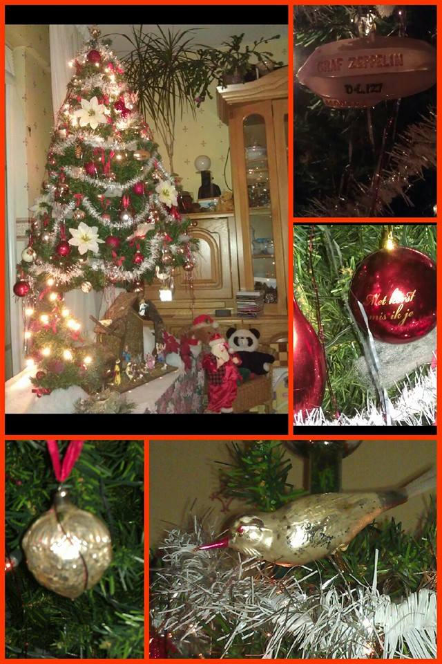 trots - kerstboom - oude kerstballen - kerst - plantplezier