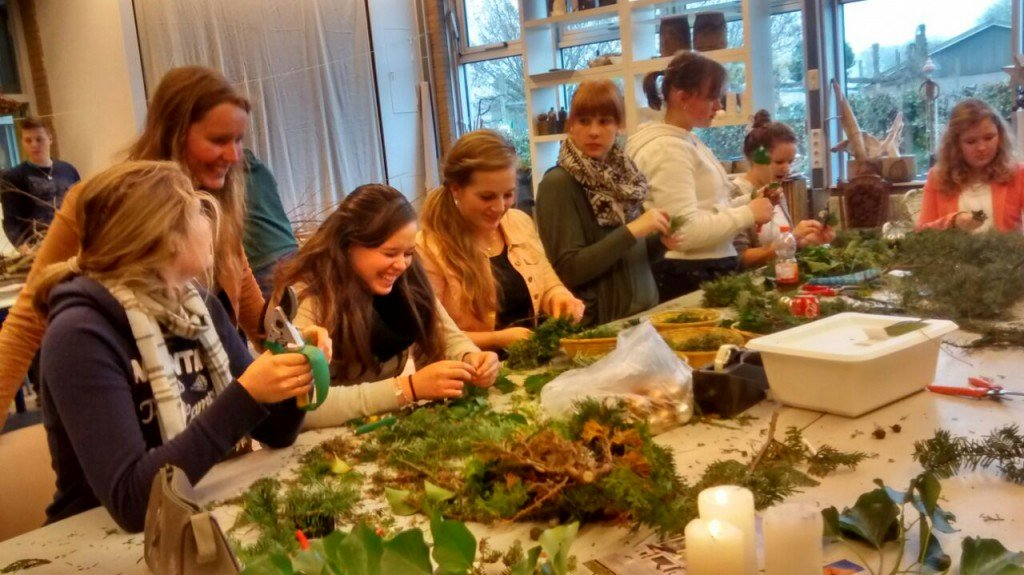 Plantplezier - pien - fleer - spotlights - studenten