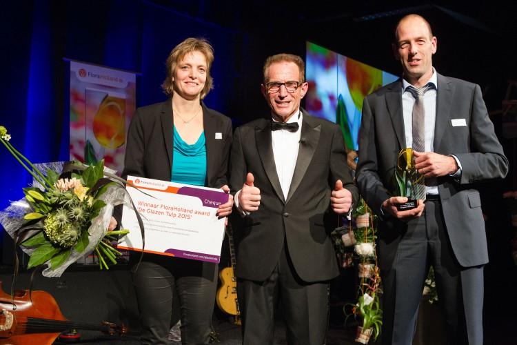 Skimmia - Pabella - Glazen Tulp - plantplezier - Rob Verlinden - winnaar - Flora Holland - Award - 2015
