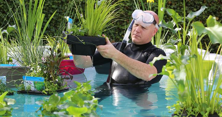 Waterplanten kweker Ronald Moerings - PlantPlezier.nl