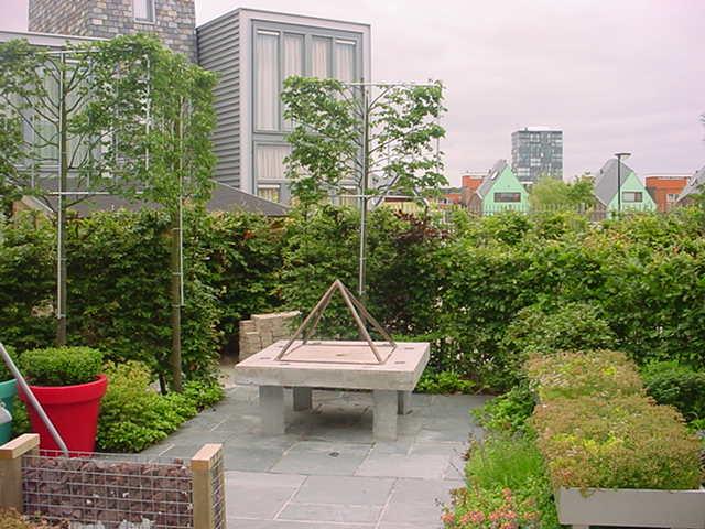 diagonale tuin - rob - plantplezier