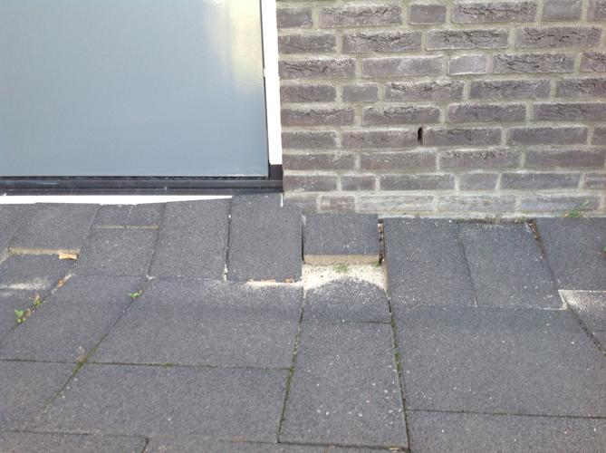 Bestrating op veengrond - PlantPlezier.nl