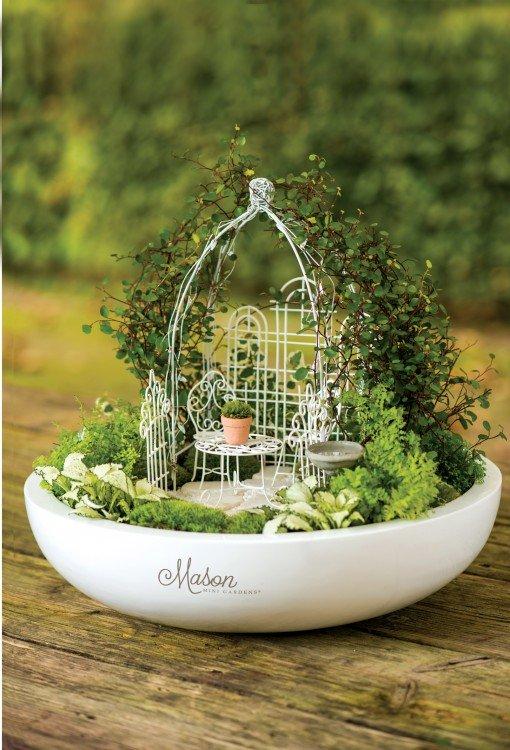 plantplezier - sonja pouw - mini tuintje - mini gardening - trots op