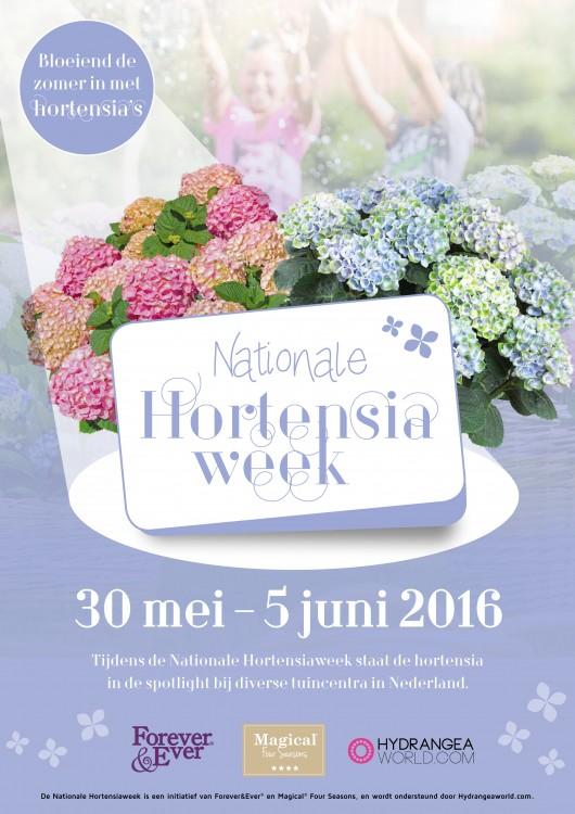 Hortensiaweek weggeef Actie - PlantPlezier.nl