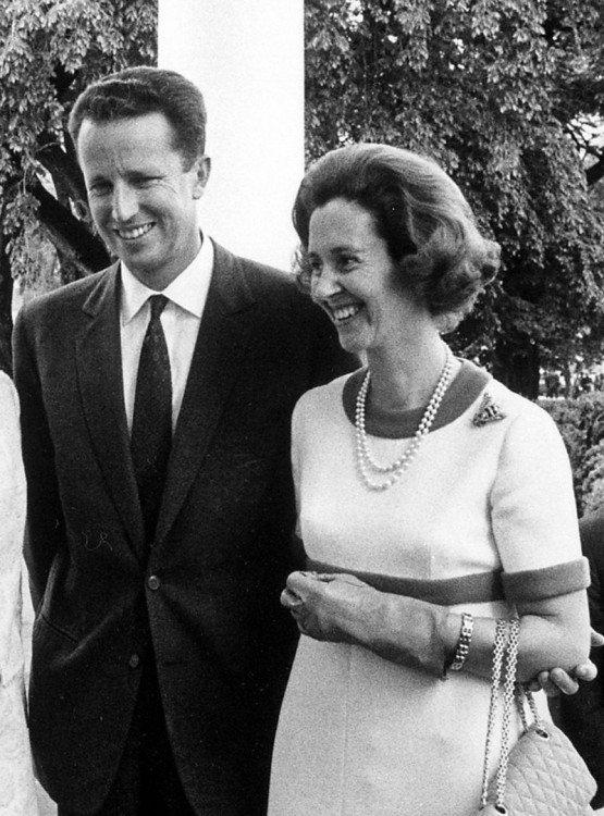 Koning Boudewijn en Koningin Fabiola van België